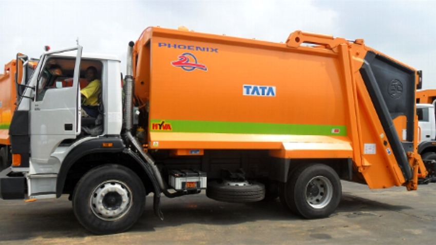 Wastepoint gets brand new TATA trucks from LAWMA